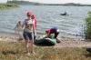 Встреча улова на берегу